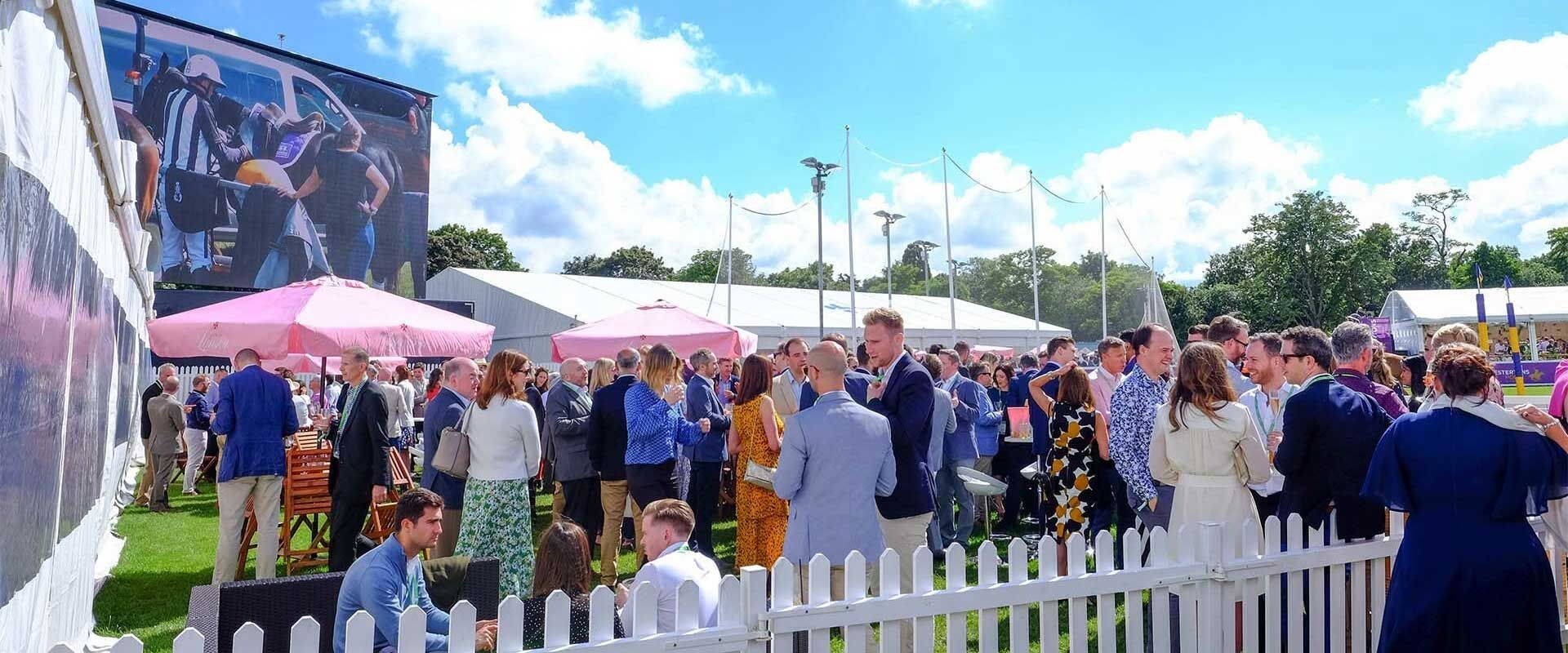 Chestertons Polo in the Park - exclusive packages with justbookitnow.com